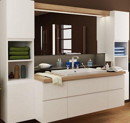 Moderigtigt Billige Badeværelsesskabe - Find det perfekte badeværelsesskab TZ33