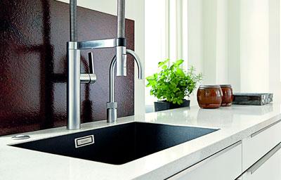 bordplade med vask køkken