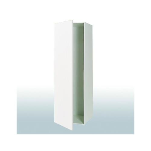 Højskab, tomt: b: 40 cm. med 1 låge - W-H 040-500-21 Hvid Højglans ...