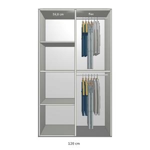 Topmoderne Garderobeskab efter mål - Billige garderobeskabe QP-08